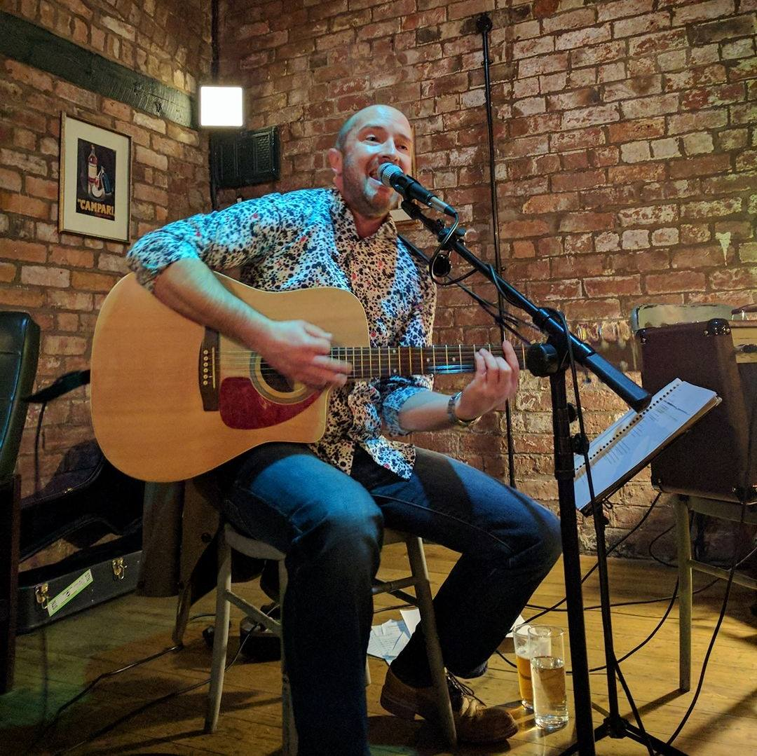 Bransby, solo acoustic set at Chester's Cornerhouse